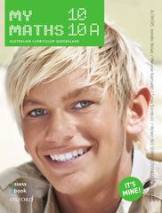 MyMaths 10 10A Australian Curriculum for Qld Student book + obook assess