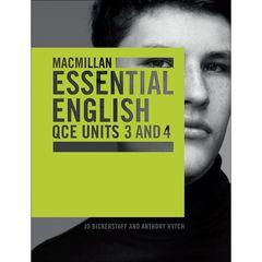 Macmillan Essential English QCE Units 3 & 4 Student Book + Digital 9781420239751