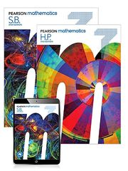 Pearson Mathematics 7 Student Book with Reader+ 2nd Edition