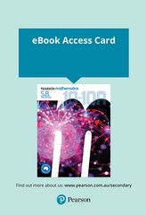 Pearson Mathematics 10-10A Reader+ Access Card 2nd Edition