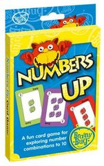 Numbers Up Card Game 9781741353181