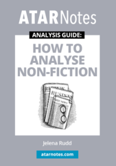 ATAR Notes Analysis Guide: How To Analyse Non-Fiction