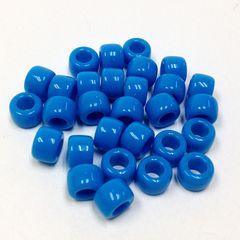 Pony Beads Blue 9mm 100g 2770000919968
