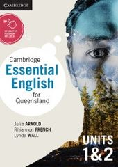 Cambridge Essential English for Queensland Units 1 & 2 print and digital