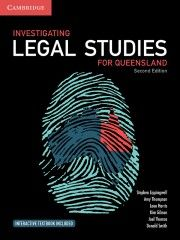 Investigating Legal Studies for Queensland print and digital  9781108469500