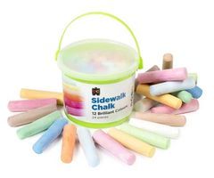 Chalk Sidewalk Pk 24 Bucket 9314289005085