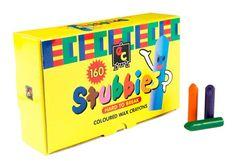 Crayons Stubbies 160pcs School Pack 9314289011314