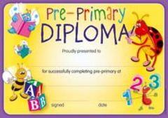 Certificates - Pre Primary Diploma  - Pk 35 CE303