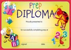 Certificates - Prep Diploma  - Pk 200 CE306