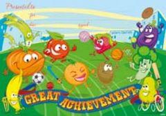Certificates - Sporting Achievement  - Pk 200 CE316