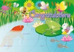 Certificates - Garden Pond  - Pk 35 CE347
