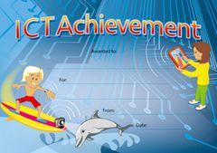 Certificates - Ict Achievement Award  - Pk 20 CE371