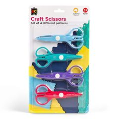 Craft Scissors Set of 4 9314289031725