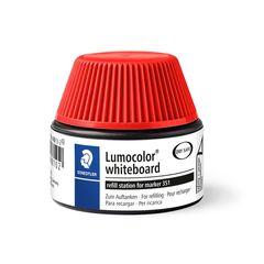 Staedtler Whiteboard Marker Refill Station - Lumocolour 351/351B (Red, 30ml) 488512