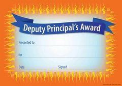 Certificates - Deputy Principal Modern  - Pk 35 DC335
