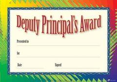 Certificates - Deputy Principal Formal  - Pk 35 DC337