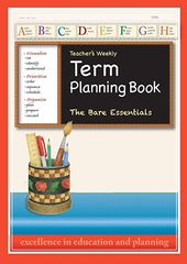 Teacher'S Weekly Term Planning Book (Set Of 4) ER9000T