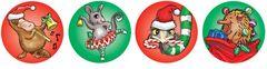 Stickers Foil - Aussie Christmas - Pk 84 FS228