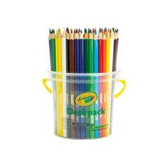 Colour Pencils Triangular Pk 48 Crayola [Bucket 4 X 12 Colours) 2770000584166