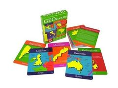 GEOCARDS WORLD COUNTRIES AND CAPITALS 850818001160