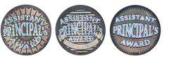 Stickers - Assistant Principals Award Silver Foil - Pk 72 HA103