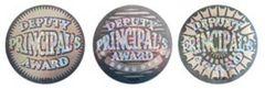 Stickers - Deputy Principals Award Silver Foil - Pk 72 HD203