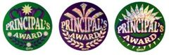 Stickers - Principals Award Foil Glitz - Pk 300 HP304