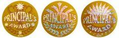 Stickers - Principals Award Gold Foil - Pk 300 HP306