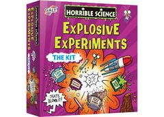HORRIBLE SCIENCE - EXPLOSIVE EXPERIMENTS LL0341