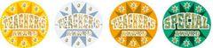 Stickers - Teachers Award Holographic Laser Glitz - Pk 48 HT130