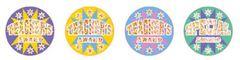 Stickers - Teachers Award Holographic Laser Glitz - Pk 60 HT132