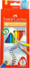 Colour Pencils Triangular Pk 20 Faber Grip 8991761345023