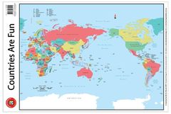 Countries Are Fun Poster 9314289034115