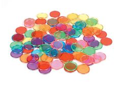Counters Pack of 100 Magnetic (Metal Ringed) 2770000003995