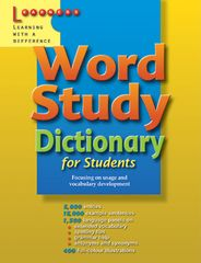 Word Study Dictionary for Students 9789814107587