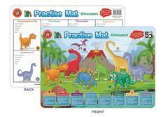 Practise Mat - Dinosaur 9314289032609