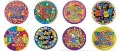 Stickers Laser - Todays Best Worker - Pk 84 LS156