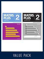 Maths Plus Australian Curriculum Ed Student And Assessment Book 2 Value Pack, 2020 9780190027162