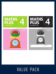 Maths Plus Australian Curriculum Ed Student And Assessment Book 4 Value Pack, 2020 9780190027186