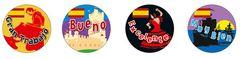 Stickers Language - Spanish - Pk 96 ML006