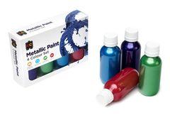 Rainbow Paint Metallic - Set of 4 x 100ml 9314289030667