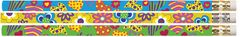 Pencils - Hearts And Flowers  - Pk 100 MP375A