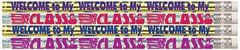 Pencils - Welcome To My Class  - Pk 10 MP424