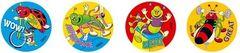 Stickers - Sporty Bugs - Pk 96 MS002