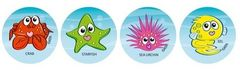 Stickers - Reef Creatures - Pk 96 MS018
