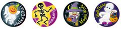 Stickers - Ghosts At Halloween - Pk 96 MS063