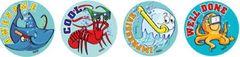 Stickers - Sea Creatures - Pk 96 MS075