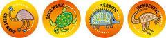 Stickers - Aboriginal - Pk 96 MS082