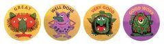Stickers Metallic - Bugs And Birds Reading - Pk 96 MT303