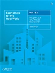 Economics for the Real World Units 1 & 2 Student Book with 4 Access Codes 9780170407007